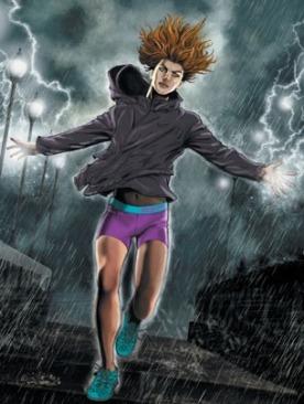 Nike Women's Training в комиксах