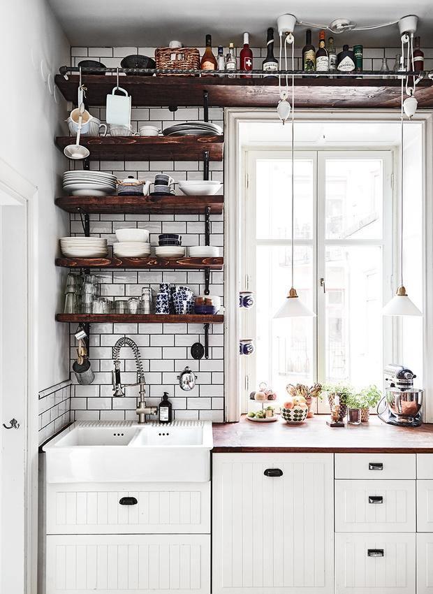 Маленькая кухня-столовая: 12 практичных советов (фото 6)