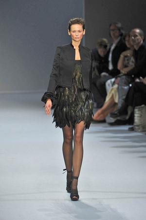 Показ Christophe Josse коллекции сезона Осень-зима 2009-2010 года Haute couture - www.elle.ru - Подиум - фото 87378