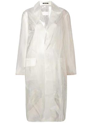 Transparent spring: прозрачный плащ, который подойдет ко всем вещам в вашем гардеробе (фото 3.2)