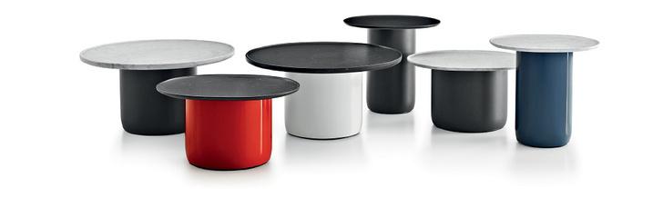 Столики Button, B&B Italia, Галерея дизайна/bulthaup СПб, салоны «Интерьеры Экстра Класса», «Флэт-интерьеры», «Частная Коллекция»