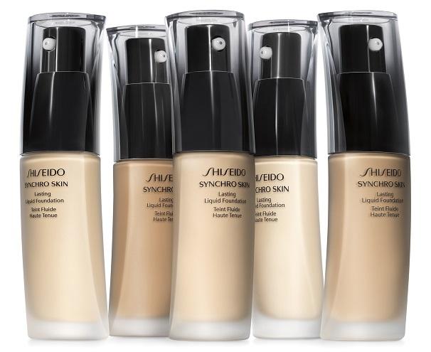 Устойчивое тональное средство Lasting Liquid Foundation Synchro Skin от Shiseido