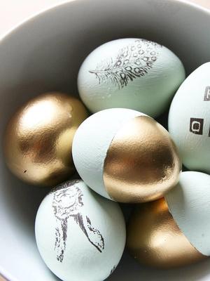 Вдохновение к Пасхе: 14 идей декора яиц (фото 9.2)