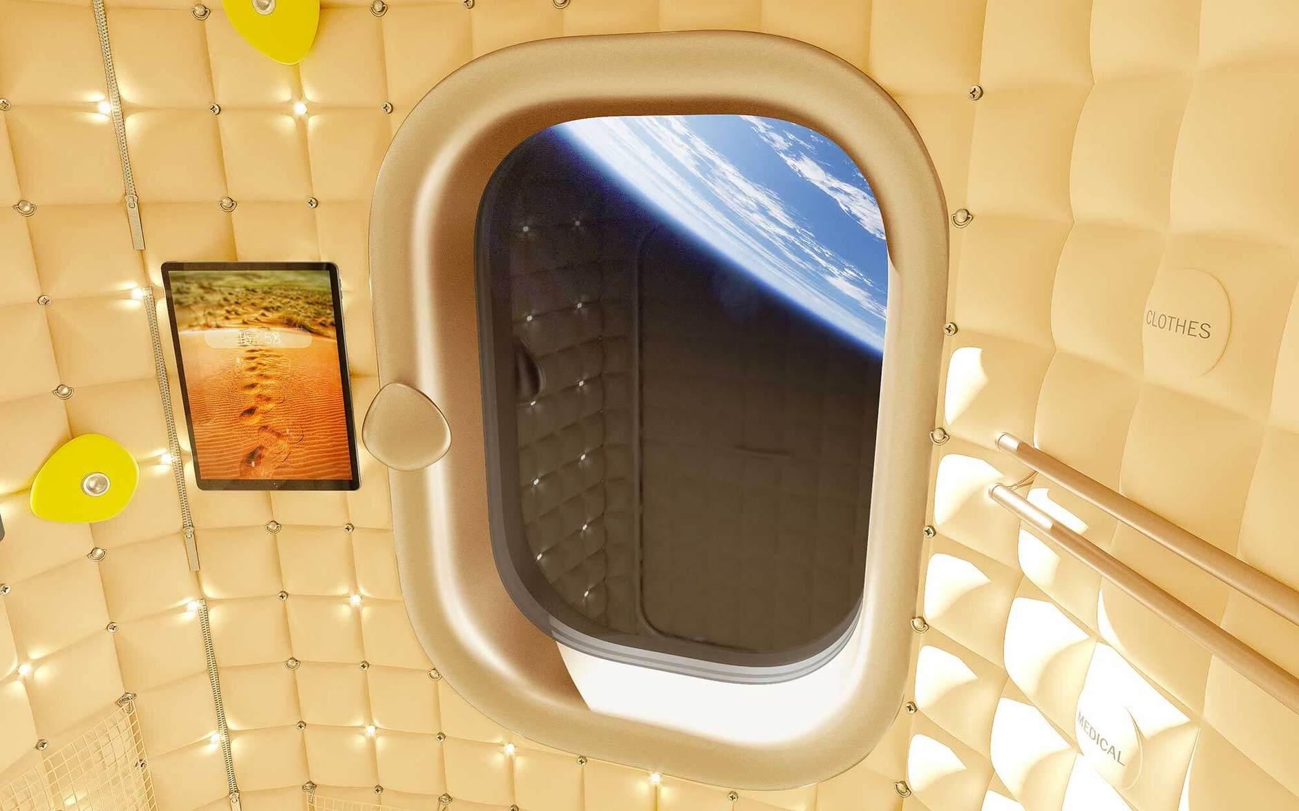 Просто космос: дизайн космической станции от Филиппа Старка (галерея 4, фото 0)