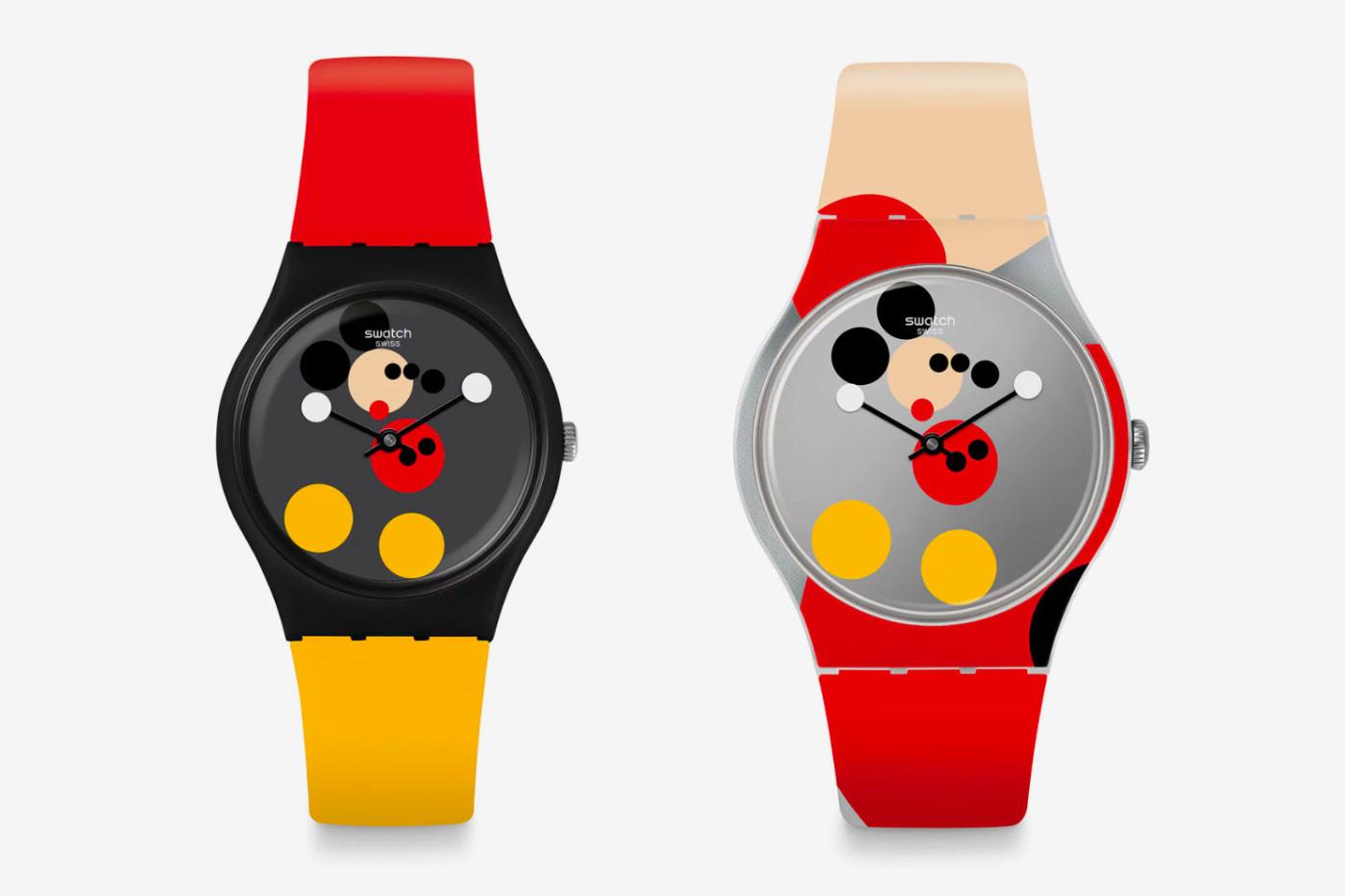 Дэмиен Херст и Swatch выпустили часы в честь юбилея Микки Мауса (галерея 3, фото 1)