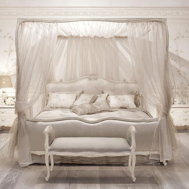 Кровать Creta от Angelo Cappellini