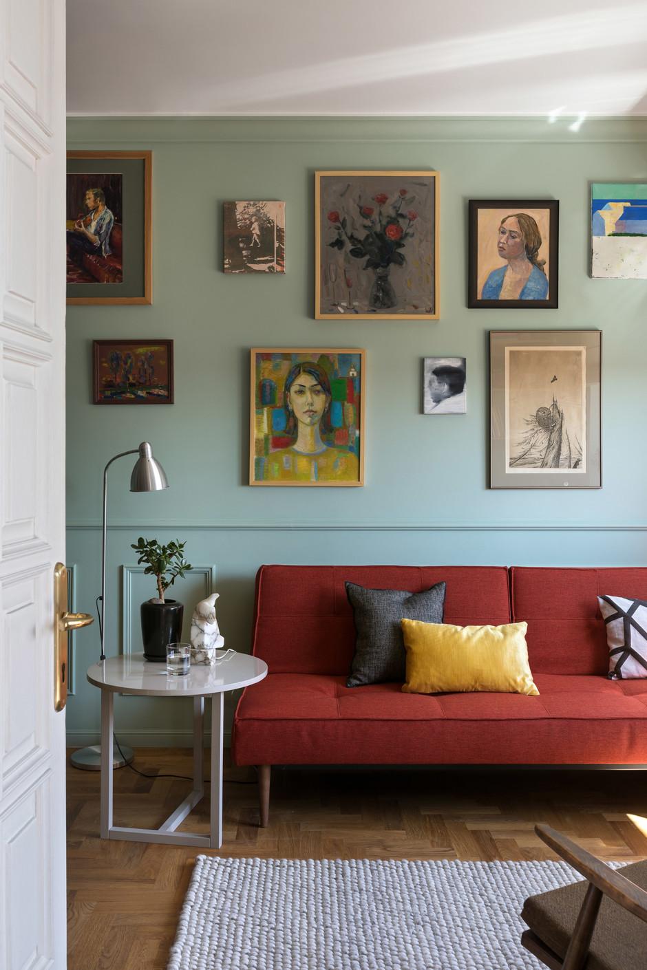 Картины в интерьере: 15 решений (галерея 0, фото 1)