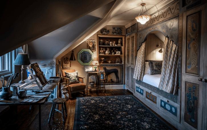 Отель в старинном охотничьем домике в Шотландии (фото 12)