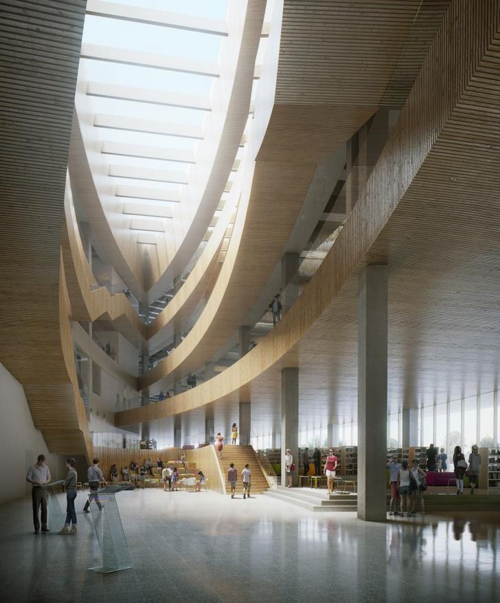 Городская библиотека в Калгари от бюро Snøhetta (фото 6)