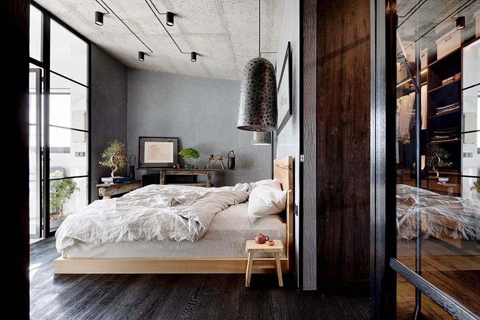 Низкая кровать: 30+ примеров для спальни (галерея 2, фото 5)