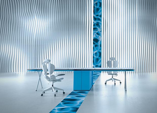 Офисная мебель по дизайну Карима Рашида (фото 7)