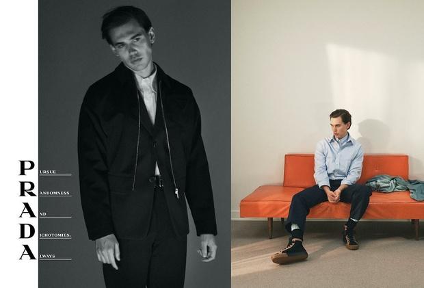 Самое красивое, что вы увидите сегодня: Фрэнк Оушен в рекламной кампании Prada (фото 2)