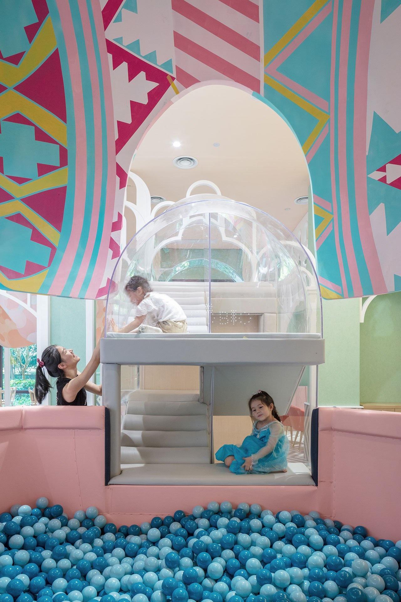 Детский ресторан Neobio Kids в Шанхае (галерея 8, фото 0)