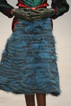 Показ Manish Arora коллекции сезона Осень-зима 2011-2012 года prêt-à-porter - www.elle.ru - Подиум - фото 250388