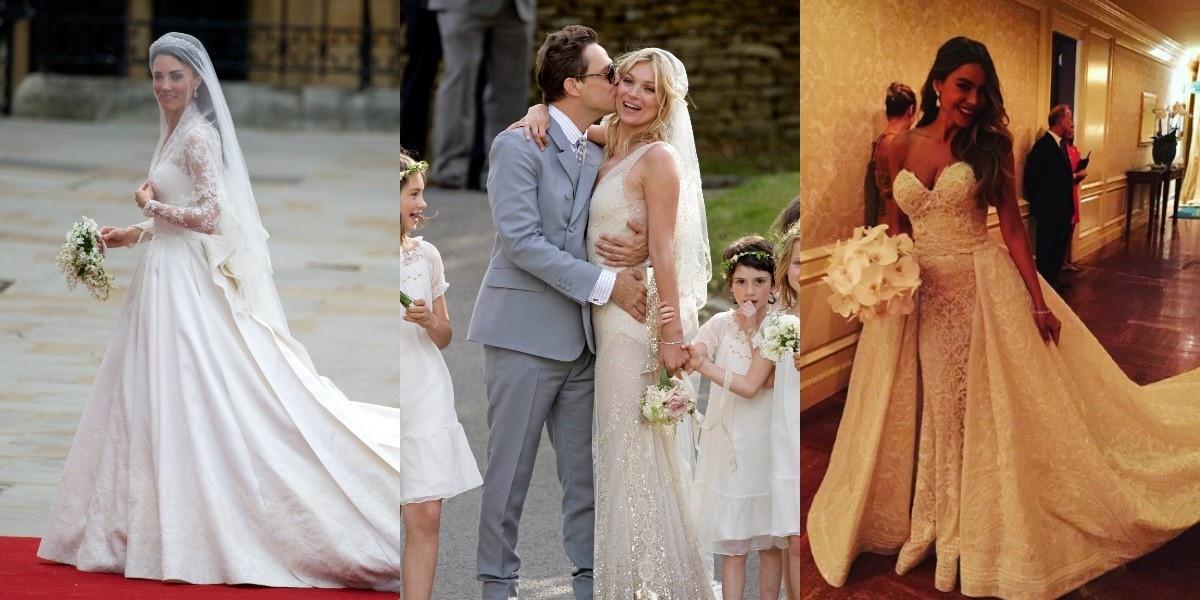 b31601240ba15b1 7 лучших свадебных платьев знаменитостей | Звездный стиль на www.elle.ru