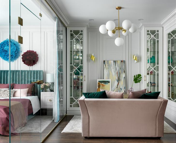 Квартира в Москве 46 м²: яркая классика (фото 11)
