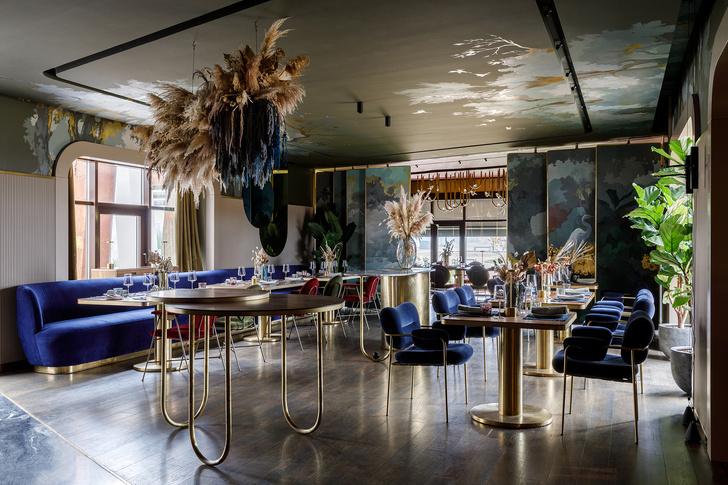 Ресторан при отеле Riviera Wellness Resort под Белгородом (фото 5)