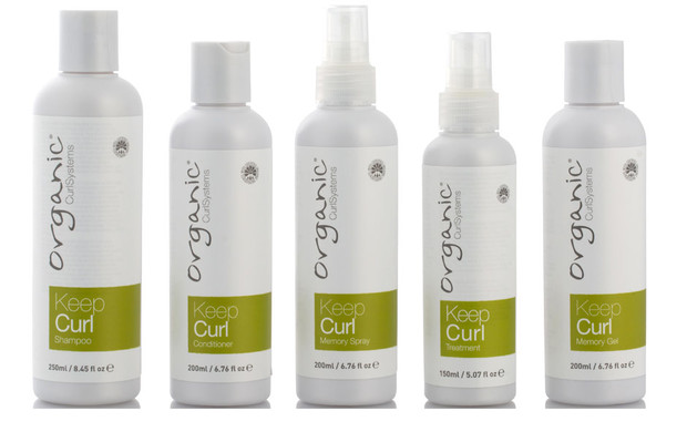 Organic Colour Systems Keep Curl