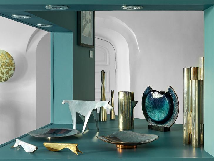 Выставка Gio Ponti & Amici в галерее дизайна MIRRA (фото 5)