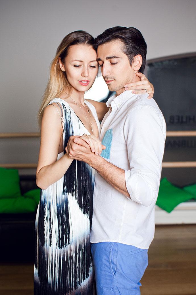 Наталья Захарова и Мурад Османн (Follow Me To)