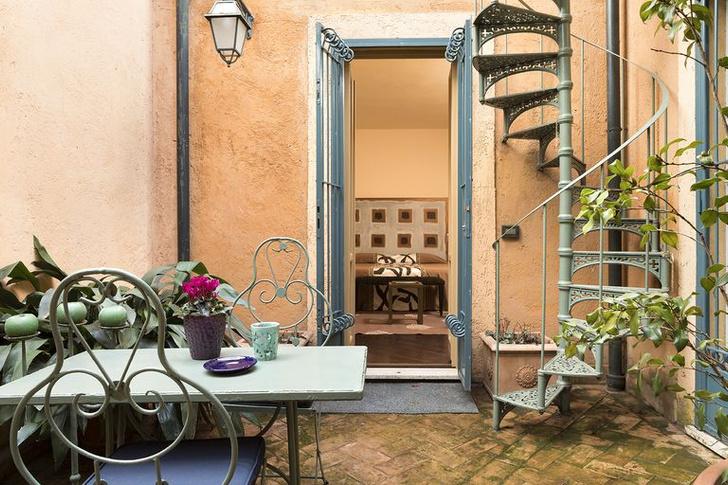 Арт-резиденция с живописным садом в Риме (фото 3)