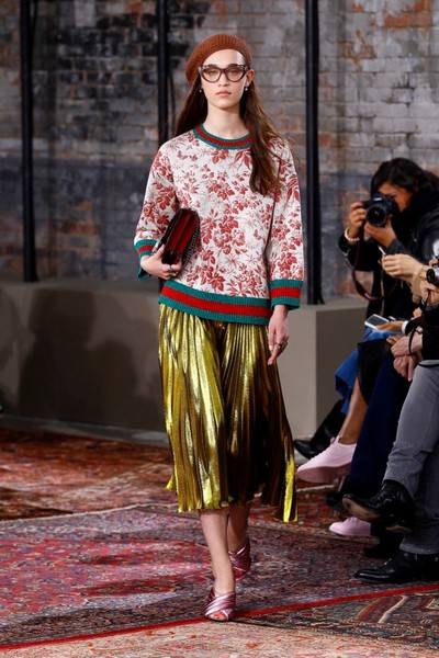 Дом Gucci представил новую круизную коллекцию 2016 | галерея [2] фото [1]