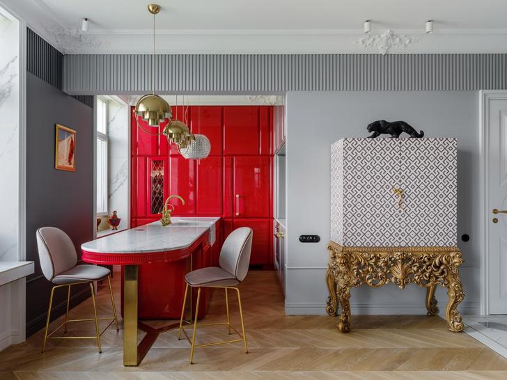 Квартира хозяйки модного бутика Яны Щегловой (фото 2)