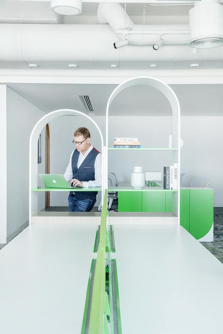Эклектичный офис в Дубае (фото 8)
