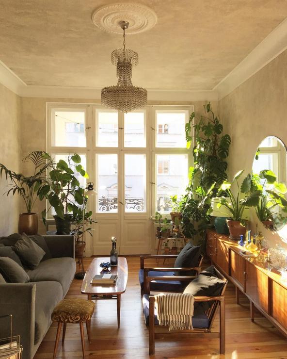 Атмосферная квартира в старом доме в Познани (фото 0)