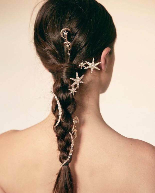 Микротренд: украшения для волос (фото 6)