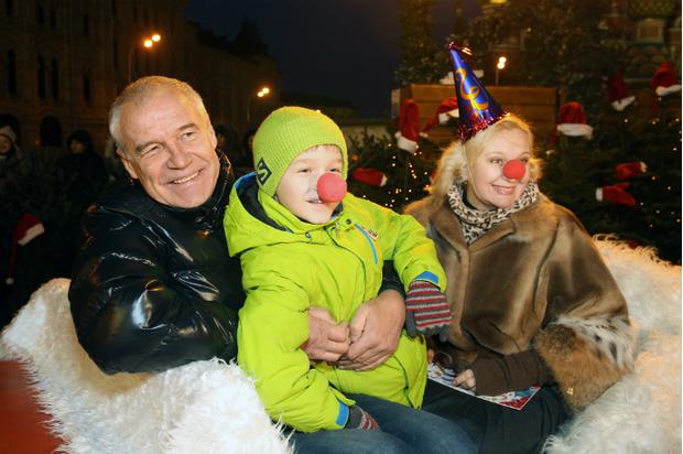 Сергей Гормаш с семьей