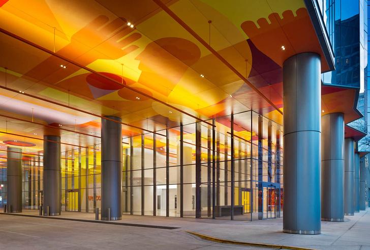 Яркая больница в Чикаго лечит дизайном (фото 3)