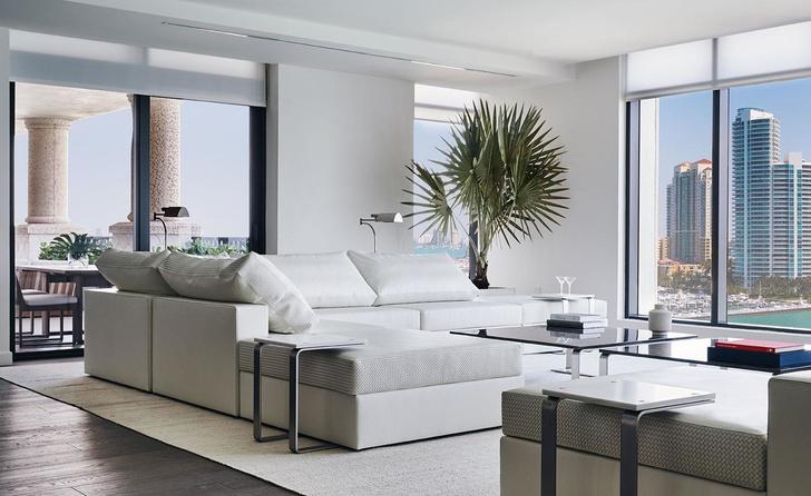Квартира в Майами-Бич: интерьер от Bottega Veneta (фото 3)