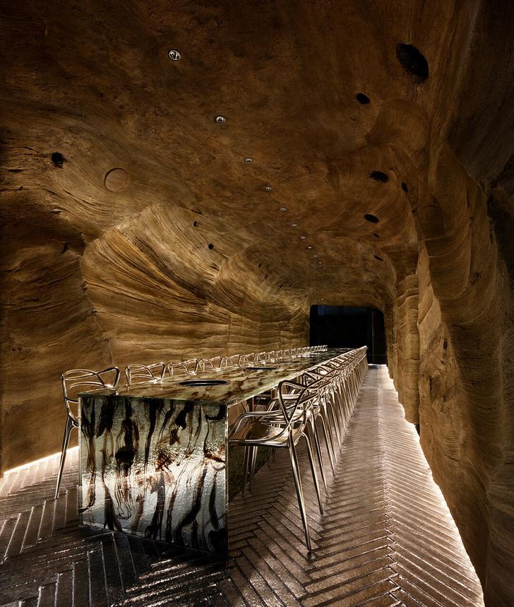 Nikunotoriko: японский ресторан в пещере (фото 7)
