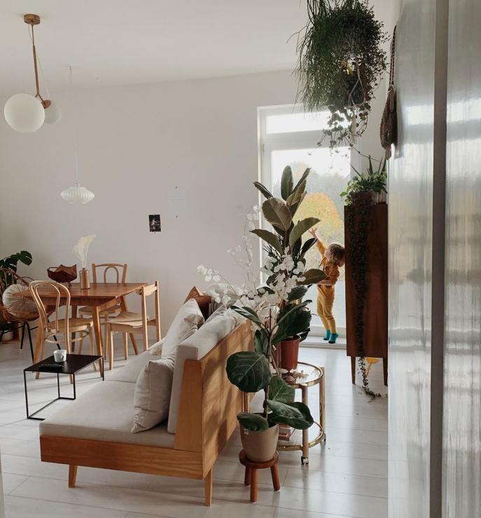 Уютная квартира с винтажной мебелью в Познани (фото 6)