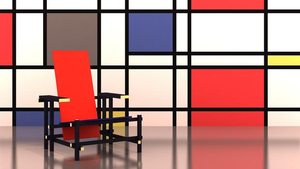 Культовый объект: 100 лет креслу Red Blue Геррита Ритвельда (фото 8)