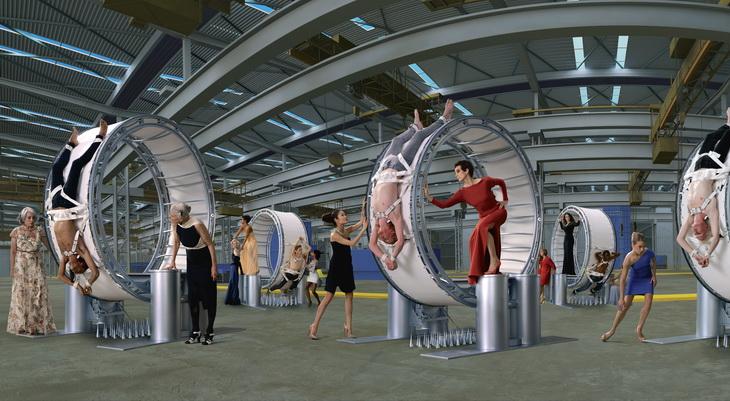 Открылась выставка AES+F «Inverso Mundus» | галерея [1] фото [4]