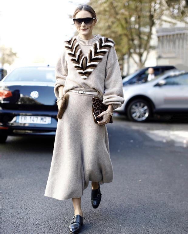 Как носить полоску: подробный мастер-класс от Оливии Палермо (фото 9)