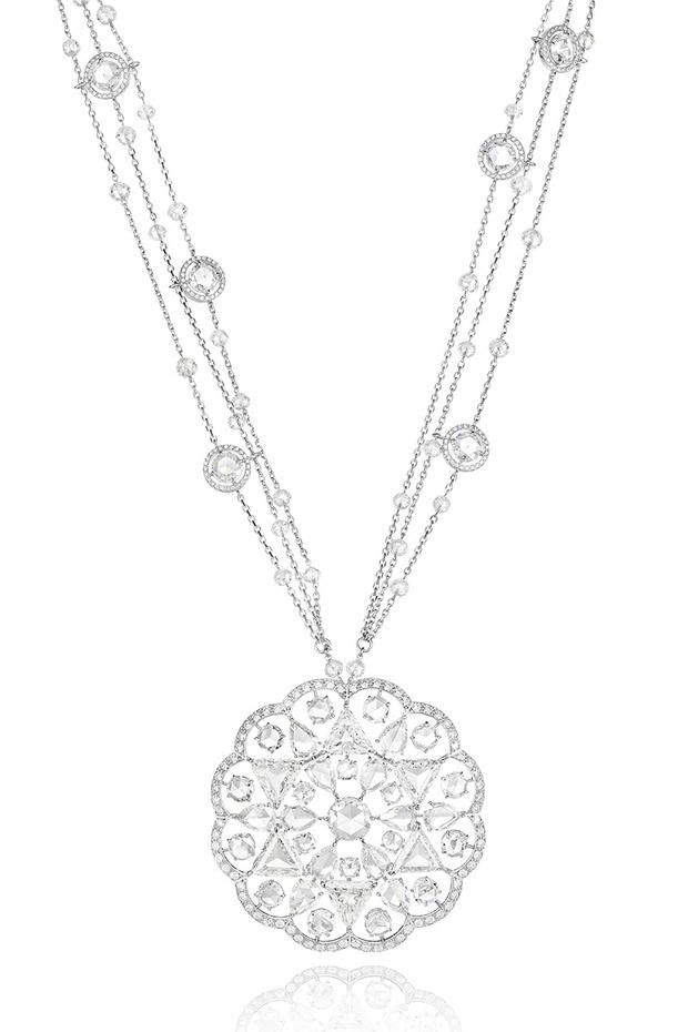 Колье Red Carpet, белое золото, бриллианты, Chopard