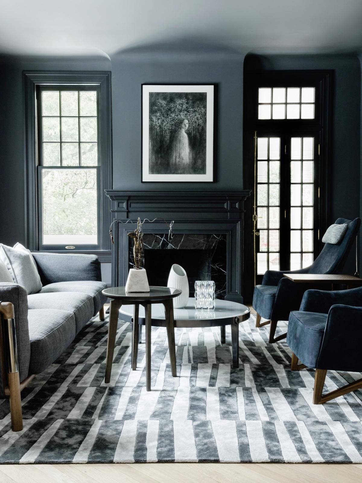 Черно-белая полоска: 10 примеров (галерея 0, фото 4)