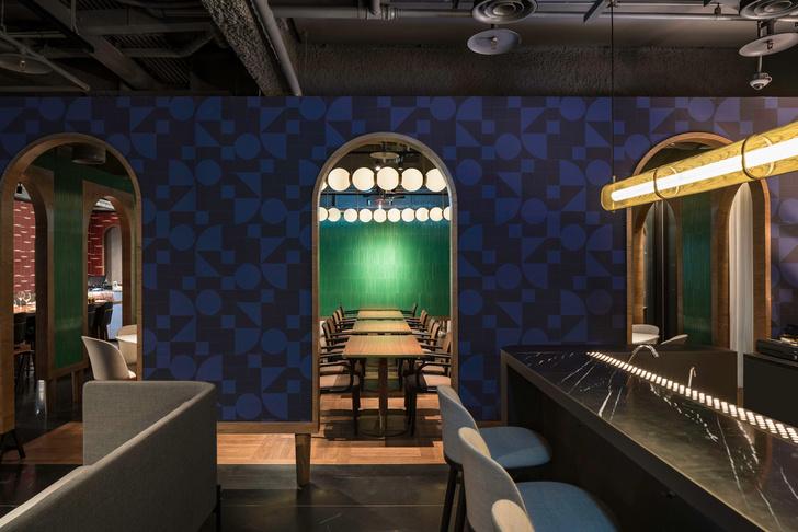 Отель в Тайбее по дизайну Нери и Ху (фото 9)