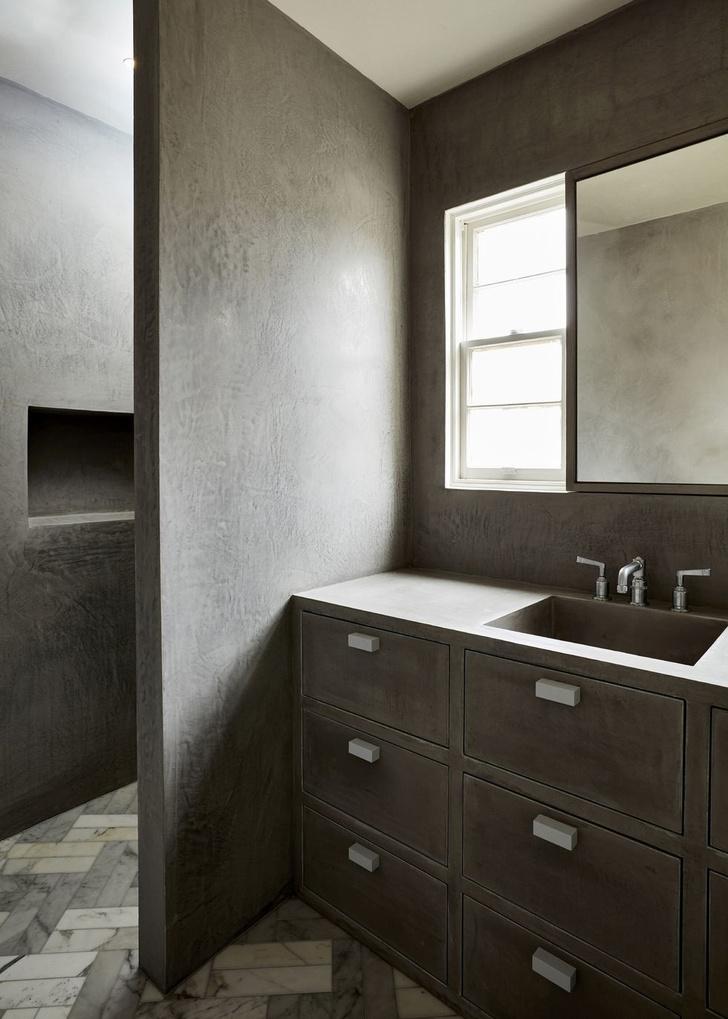 Монохромный интерьер квартиры в Австралии (фото 14)