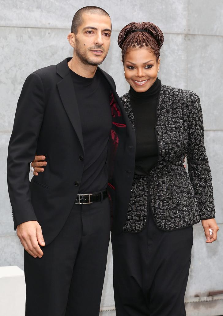 Джанет Джексон с бывшим мужем