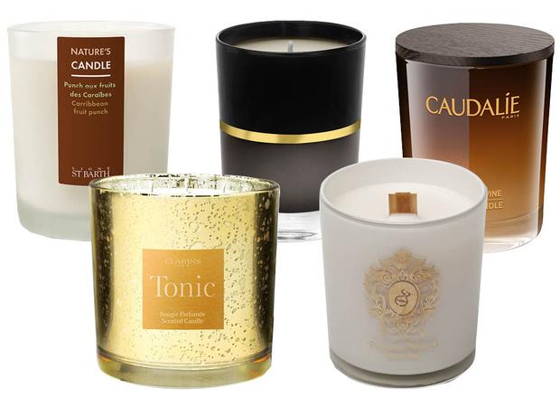 pefume candles