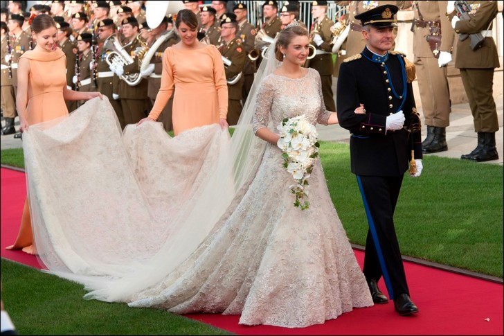 Герцогиня Люксембурга Стефания де Ланнуа, 2012 год