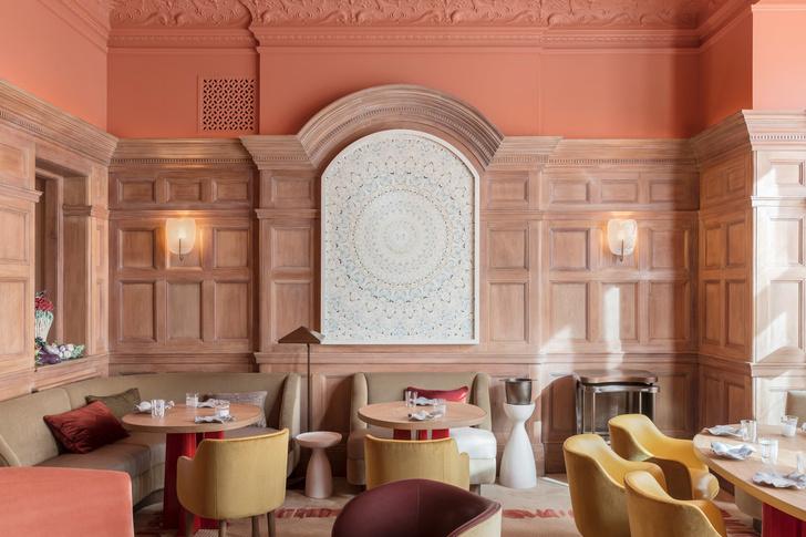 Ресторан по проекту Пьера Йовановича в отеле The Connaught (фото 0)