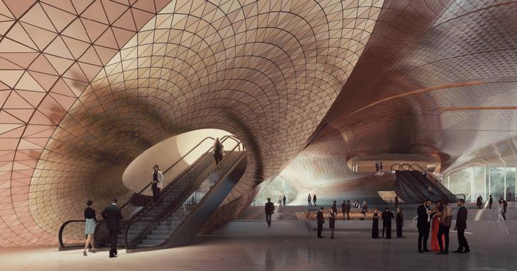 Главные проекты Zaha Hadid Architects в России (фото 14)