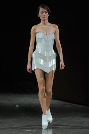 Показ  коллекции сезона Весна-лето 2012 года Haute couture - www.elle.ru - Подиум - фото 331093