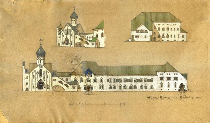 До 6 декабря в МУАРе проходит выставка «Итальянские постройки Алексея Щусева» фото [5]