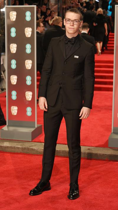 Black only: звезды пришли на BAFTA в черном (галерея 1, фото 11)